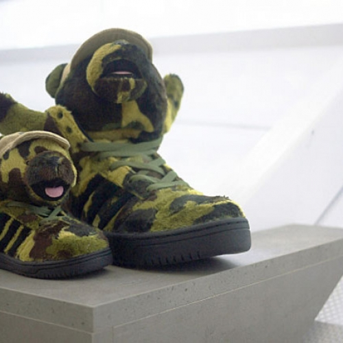 adidas Originals by Jeremy Scott 2013 Spring/Summer JS Bear