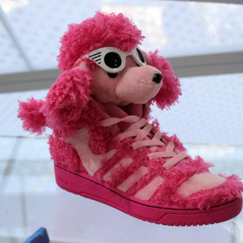 adidas Originals by Jeremy Scott 2013 Spring/Summer Pink Poodle