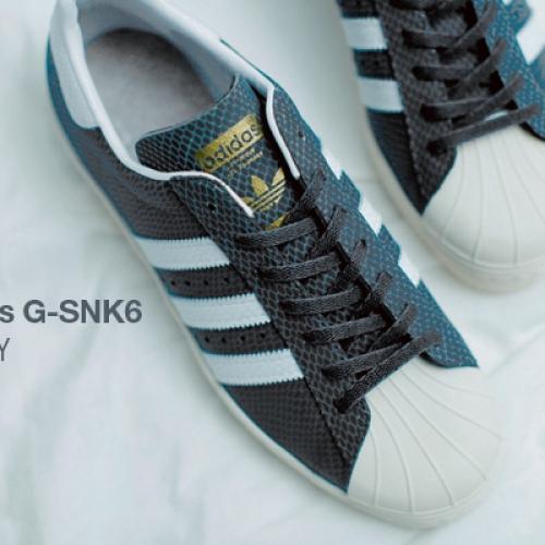 adidas Originals for atmos SS 80's G-SNK 6 先行予約開始