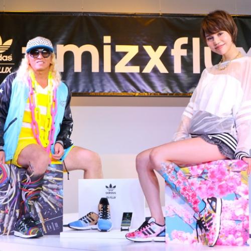 アディダスは、スマートフォンで撮影した写真がスニーカーのアッパーデザインになる adidas mi ZX Flux Photo Print がスタート