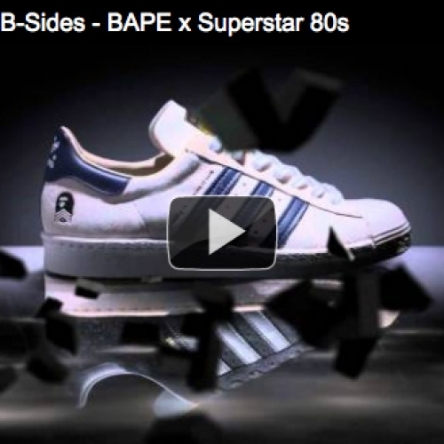 VIDEO: adidas Originals B-Sides – BAPE x Superstar 80s
