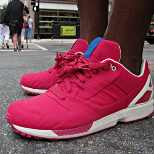 ADIDAS ZX 77 RED/WHITE SAMPLE