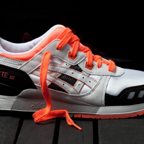 ASICS GEL LYTE III ORANGE BLAZE