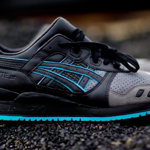 "RONNIE FIEG x ASICS GEL-LYTE III ""LEATHER BACK"""