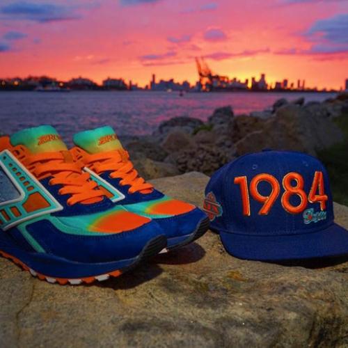 """ブルックスは、マイアミのスニーカーショップShoe Galleryとのコラボモデル""""84 Fins"""" Regentを発売"""