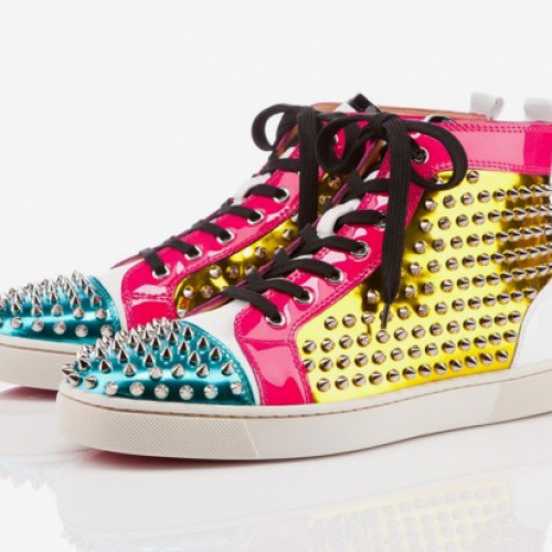 more photos d3efb 7b9ea Christian Louboutin 2011 Holiday Louis Spikes