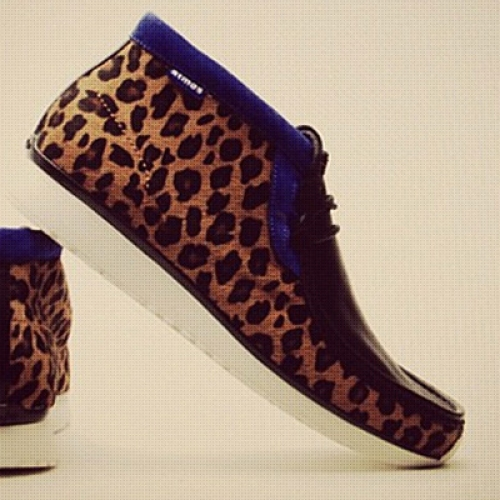 "atmos x Clarks Sports Wear TAWYER ""Animal Print"""