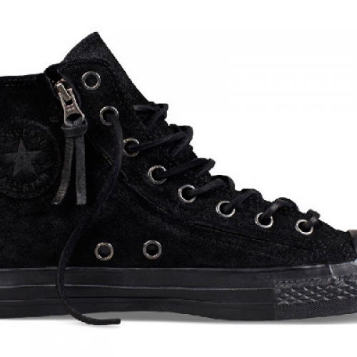 CONVERSE BY JOHN VARVATOS CHUCK TAYLOR DOUBLE ZIP BURNISHED SUEDE PACK