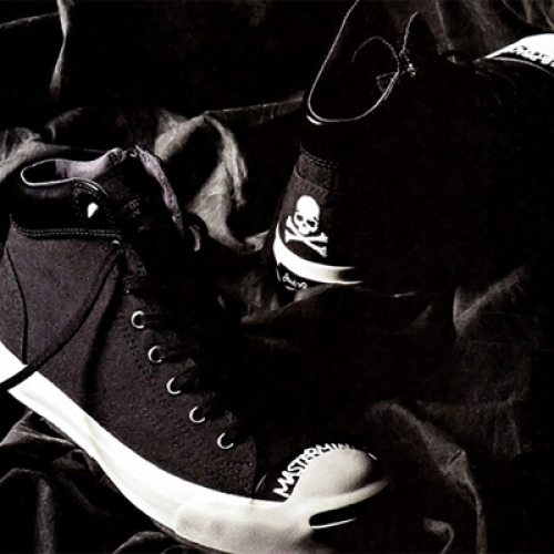 mastermind JAPAN x Converse Jack Purcell Mid
