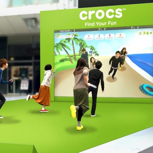 """crocsは、最先端の体験型バーチャルアトラクション""""撮れ〜る!アドベンチャー""""を期間限定で開催"""