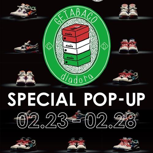 ディアドラが誇る1992年に生まれた伝説的な2モデルの復刻を記念し、Styles DAIKANYAMAにてPOP-UPを開催