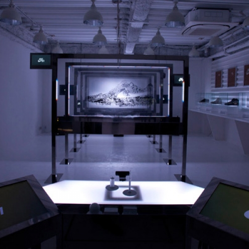 NIKE AIR FORCE ONE ART INSTALLATION VIDEO