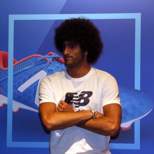 マンチェスター・ユナイテッド所属のマルアン・フェライーニ選手を招いた New Balance FOOTBALL 2015FW BOOTS REVEAL PARTY が開催