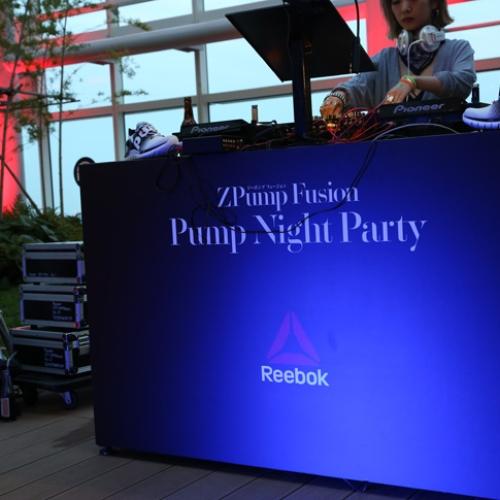 リーボックは、ZPump Fusionのニューカラーの発売を記念し Pump Night Party を開催