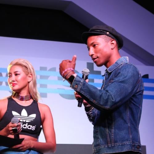 アディダス オリジナルスは、Superstarをテーマに一夜限りのアソビ場を創り出すCELEBRATION PARTY TOKYO by Pharrell Williams & YOONを開催