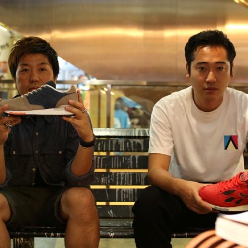 mita sneakers 国井氏 x atmos 佐藤氏「Reebok CLASSIC」インタビュー
