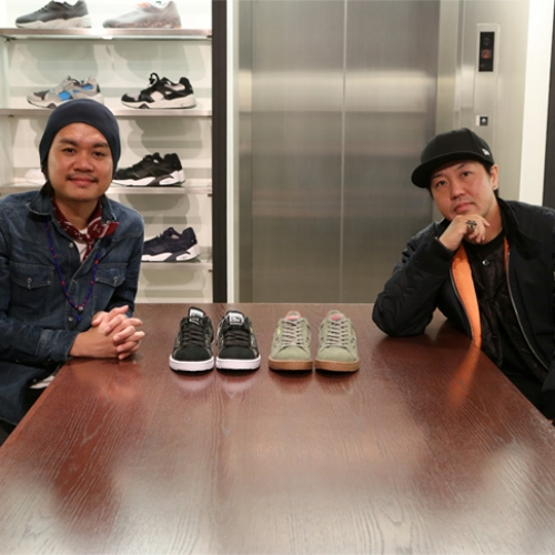 "SBTG Mark  x mita sneakers 国井栄之氏 Puma CLYDE CONTACT ""First Contact"" ""SBTG x mita sneakers"" インタビュー"