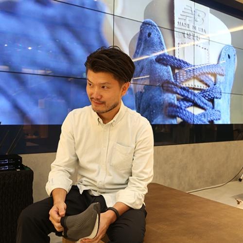 ニューバランスは、東京ミッドタウンにライフスタイルコンセプトストアをオープンし、3Dプリンタを使用したMS066を数量限定で発売