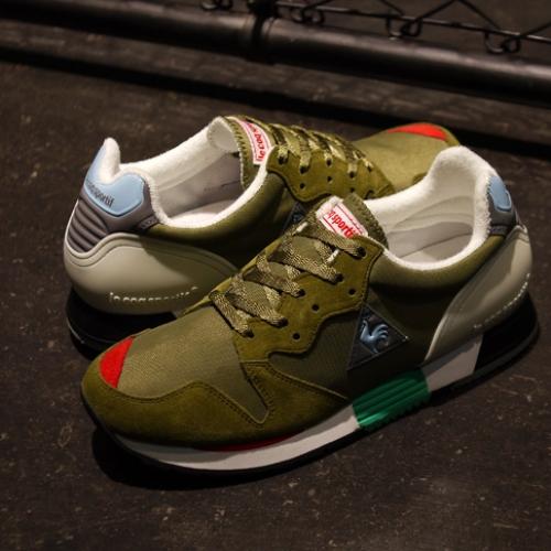 ルコックスポルティフは、mita sneakersクリエイティブディレクター国井氏がカラーディレクションを手掛けたEUREKAを発売
