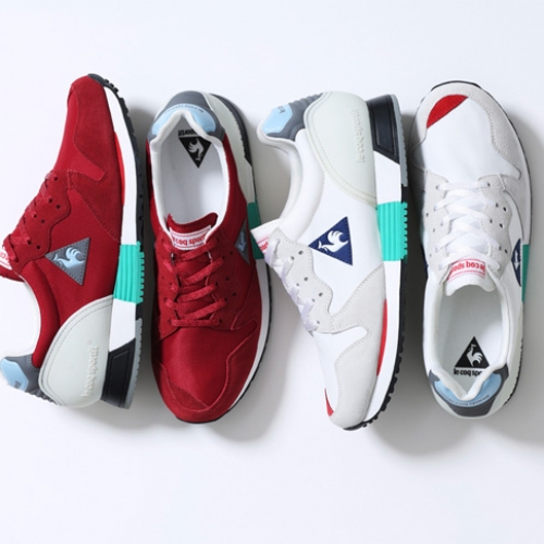 ルコックスポルティフが誇る名作EUREKAから、mita sneakers 国井栄之氏カラーディレクションモデルが登場