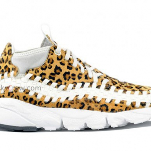 Nike Air Footscape Woven Chukka Motion Leopard