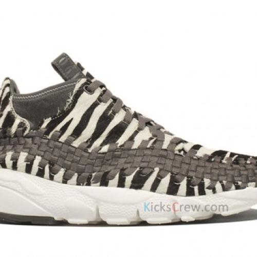 Nike Air Footscape Woven Chukka 'Zebra'