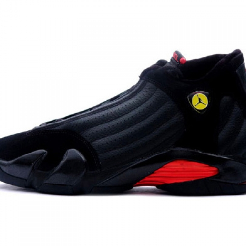 NIKE Air Jordan XIV 14 Black-Varsity Red