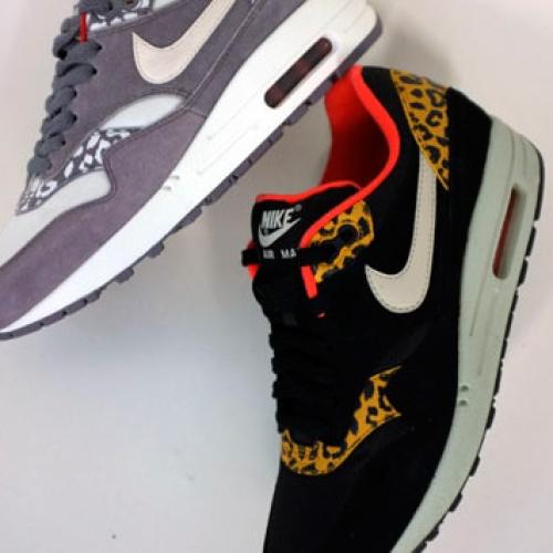 Nike Air Max 1 Leopard Pack Fall 2012