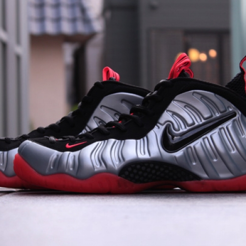 NIKE AIR FOAMPOSITE PRO 「LIMITED EDITION for NONFUTURE」SLV/ORG/BLK