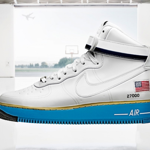 """NIKE AIR FORCE 1 HIGH BDAY """"XXX PEARL COLLECTION"""""""