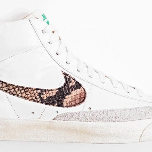 "Nike Blazer High ""Snakeskin Swoosh"""