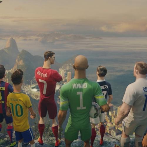 ナイキフットボール、リスクに着目したアニメーションムービー 「ラストゲーム」を発表