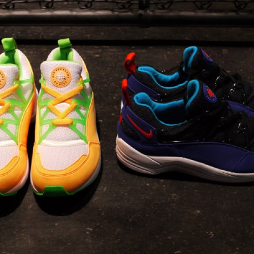 """NIKE AIR HUARACHE LIGHT """"LIMITED EDITION for NONFUTURE"""" の先行予約が開始"""