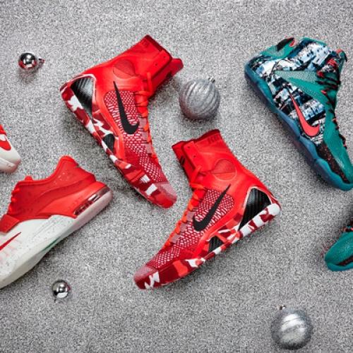 2014 ナイキバスケットボール クリスマスコレクションが登場