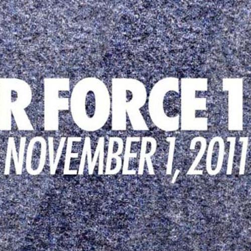NIKE AIR FORCE 1 ID TO RETURN ON 11/1/11
