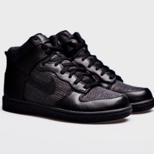 Maharam x Nike Dunk High Premium Black