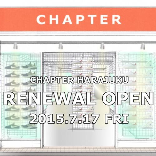 CHAPTER HARAJUKUが20周年を目前にリニューアルオープン