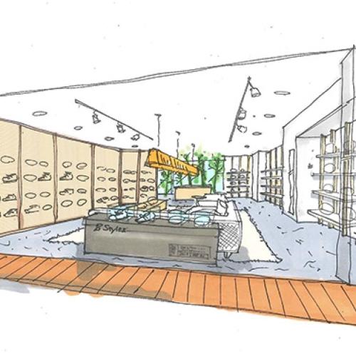 スニーカーを主軸としたセレクトショップStyles 2号店が、六本木ヒルズにオープン