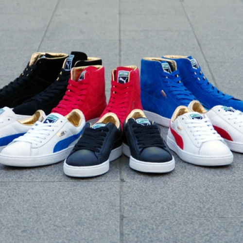 """Puma THE GOLD CLASSIC PACK """"LIMITED EDITION for The LIST"""""""