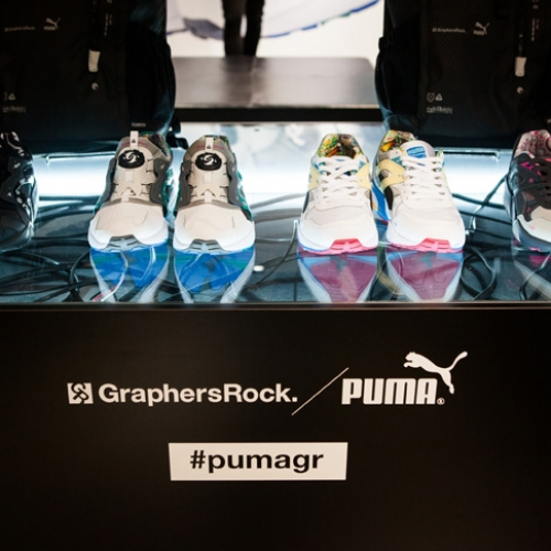 PUMA x GraphersRock Capsule Collection Launch Recap