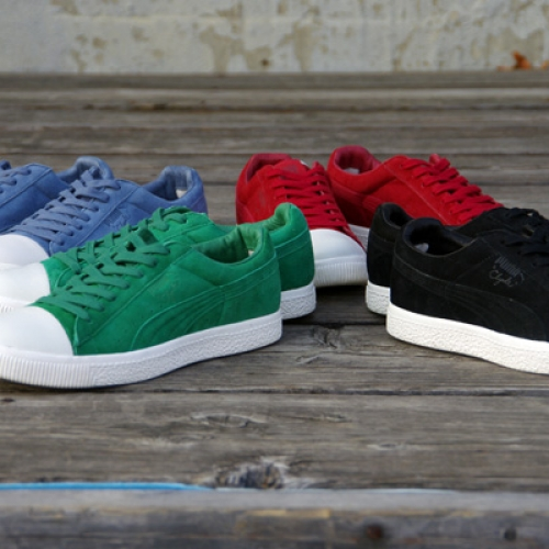 UNDEFEATED x PUMA CLYDE COVERBLOCK
