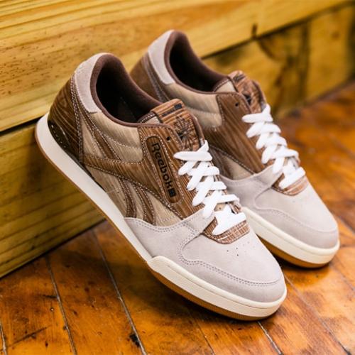 """リーボックは、木製テニスラケットから着想を得たmita sneakersとのコラボモデルPHASE I PRO CNL """"YEAR OF COURT""""を発売"""
