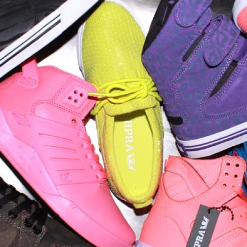 Supra Footwear for Women Fall 2012