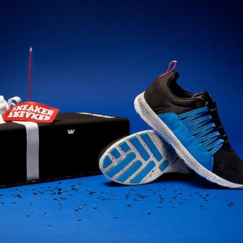 """Sneaker Freaker x SUPRA OWEN GT """"Blue Balls"""""""
