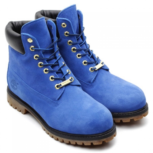 atmos x Timberland 6inch PREMIUM BOOT BLUE SUEDE