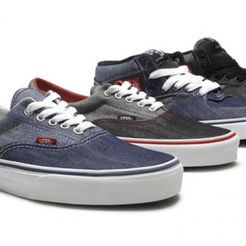 "VANS ERA & HALF CAB ""DENIM"""
