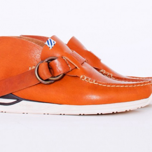 visvim Folk Double Ring Skynyrd Caramel
